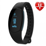 Fitness Tracker Watch with Blood Pressure and Heart Rate Monitor
