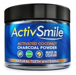 ActivSmile – Organic Natural Teeth Whitening – Activated Coconut Charcoal Powder