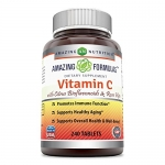 Vitamin C Non-GMO with Bioflavonoids and Rose Hips