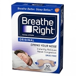 Breathe Right Drug-Free Nasal Strip Snoring Treatment