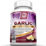 BRI Nutrition Pure, Potent, Odorless Garlic Allium Sativum Supplement
