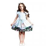 BRWCF Kids Dresses for girls 2017