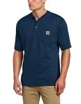 Carhartt Men's Workwear Pocket Short Sleeve Henley Shirt