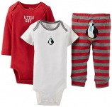 Baby Boy's 3 Piece Take Me Away Set