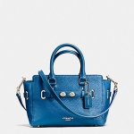 Coach MINI BLAKE CARRYALL LEATHER HANDBAG