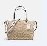 COACH MINI KELSEY LEATHER HANDBAG