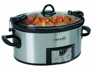 Crock-Pot 6-Quart Programmable Cook & Carry Slow Cooker with Digital Timer