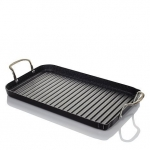 Curtis Stone Nonstick Double-Burner Grill Pan