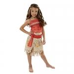 Disney Moana Girls Adventure Outfit, Age: 3+, Size: 4 – 6x