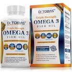 Dr. Tobias Omega 3 Fish Oil Triple Strength, Burpless.
