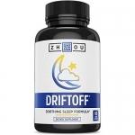 DRIFTOFF Natural Sleep Aid with Valerian Root & Melatonin