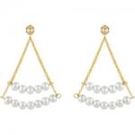 Effy 14K Gold and Diamond Drop Earrings