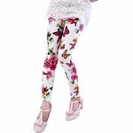 Girl pants new arrive printing Flower girls legging