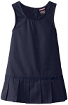 French Toast Girls' Pleated Hem Jumper with Ribbon