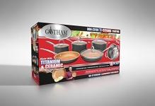 Gotham Steel 10-Piece Non-Stick Kitchen Set