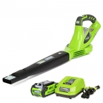 Greenworks 40V 150 MPH Variable Speed Cordless Blower, 2.0 AH Battery Included