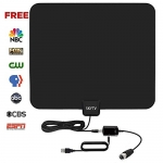 HDTV Antenna,Indoor Amplified TV Antenna 50 to 70 Miles Range