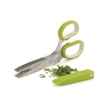 Multipurpose Herb Cutter Scissors with 5 Blade