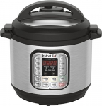 Instant Pot DUO80 7-in-1 Multi-Use Programmable Pressure Cooker, 8 Qt