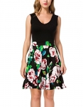 Women's Casual Sleeveless Party Mini Dress
