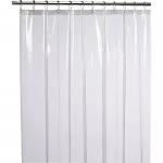 LiBa Mildew Resistant Anti-Bacterial Shower Curtain Liner