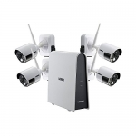 HD Wire-Free Security System with Wire-Free Cameras