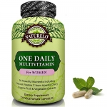 NATURELO One Daily Multivitamin for Women – Best for Hair, Skin Nails