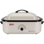 Nesco Classic Roaster Oven, Porcelain Cookwell