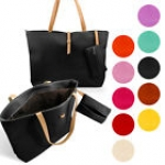 New Womens Faux Leather Fashion Messenger Handbag