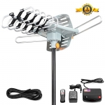 Digital Outdoor HDTV Antenna – 150 Miles Range
