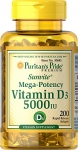 VITAMIN D3 5000 IU, Supports Healthy Bones