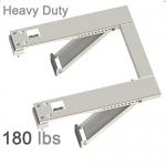 Qualward Air Conditioner AC Window Support Bracket 180 lbs