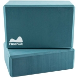 Reehut Yoga Block (1 PC or 2 PC) – High Density EVA Foam Block