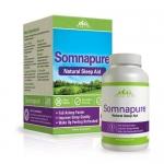 Somnapure Natural Sleep Aid with Melatonin, Valerian, and Chamomile