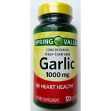 Spring Valley Odorless Garlic Softgels, 1000 mg