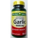 Spring Valley Odorless Garlic Softgels, 1000 mg