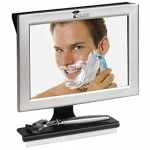 ToiletTree Fogless Shower Bathroom Mirror with Squeegee