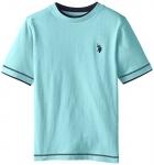 U.S. Polo Assn. Big Boys' Double Crew Look T-Shirt