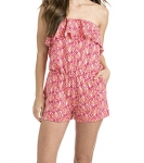 Vineyard Vines Women's Shell Ruffle Knit Romper