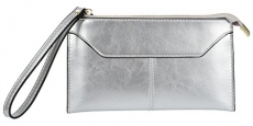 Yaluxe Women's Genuine Leather Clutch Wallet