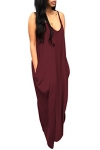 Women's Spaghetti Strap Maxi Dress